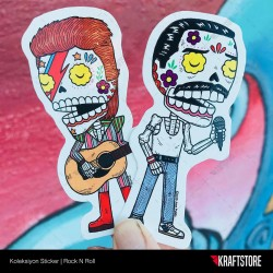 Rock N Roll Sticker