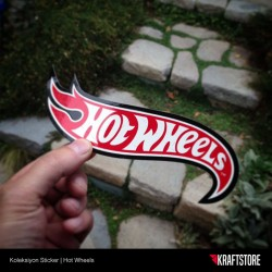 Hot Wheels Sticker
