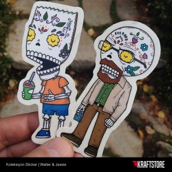 Walter & Jessie Sticker