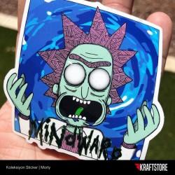 Morty Sticker