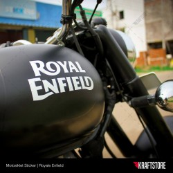 Royal Enfied Sticker