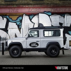 Land Rover Defender Sticker Seti