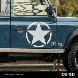 Army Star Sticker