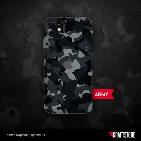 iPhone 11 - Army Kaplama