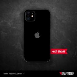 iPhone 11 - Mat Siyah Kaplama
