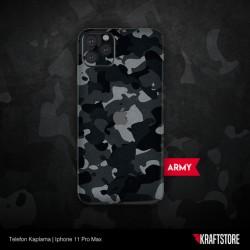 iPhone 11 Pro Max - Army Kaplama