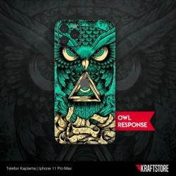 iPhone 11 Pro Max - Owl Response Kaplama