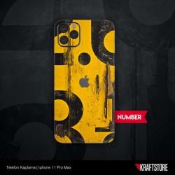 iPhone 11 Pro Max - Number Kaplama